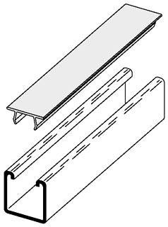 B217P-10FT-GRAY B-LINE PLASTIC COVER GRAY B217PGRY120