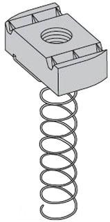 N724ZN(1/4) N724 (1/4) ZN LOCK NUT 78101140523 100/BOX