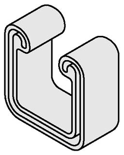 B823-22GRY B-LINE STRUT CAP