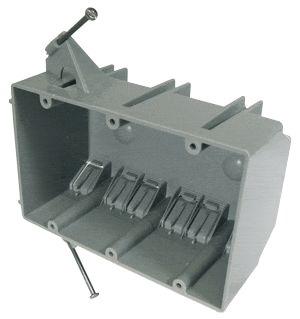 EZ44TN CANTEX 44 CU IN 3 GANG W/ NAILS 08870001995