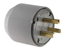 5701N CWD IND.SPEC.PLUG 2P3W 30A 250V 6-30P AUTOGRIP.425-1.31