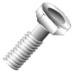 74216J CULLY 1/4-20 X 1 HEX CAP SCREW 18-8S 08593708195