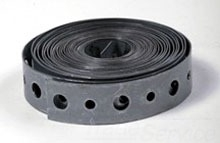 3/4X10 FT ROLL 24GA GALV PERFORATED STRAP 9 24P10