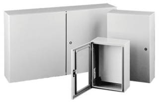 CTD364812 HOF DOUBLE DOOR ENCLOSURE
