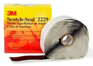 2229-1X10FT MMM 125MIL HIGH VOLTAGE MASTIC TAPE COMPOUND 12/case