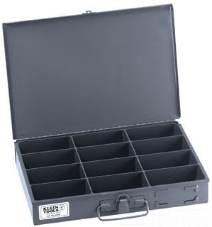 54437 KLE 12 COMP PARTS STORAGE BOX
