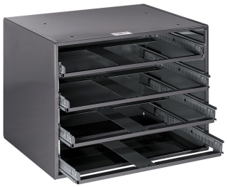 54477 KLE EX-LARGE 4-BOX SLIDE RACK