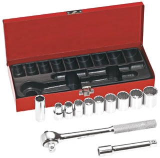 65510 KLE 12-PIECE 1/2IN DRIVE SOCKET SET