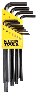 LLK12 KLE HEX KEY SET 12PC