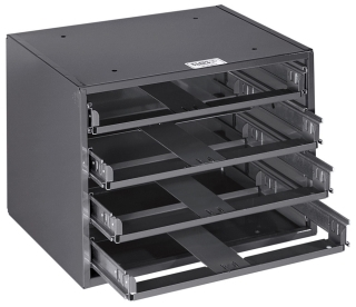 54476 KLE MID-SIZED 6-BOX SLIDE RACK