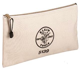 5139 KLE CANVAS ZIPPER BAG