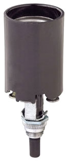 4155 LEV 660W/250V BOTTOM TURN KNOB - MED BASE BLACK