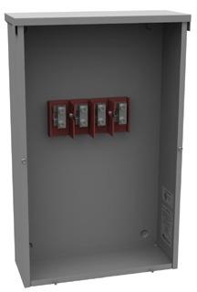 MILBNK PB-032 200-AMP 3-PHASE UNDERGROUND TERMINATION BOX
