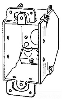 388OR44 APP 2-1/4 DEEP SWITCH BOX W/EARS