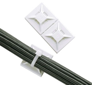 ABMM-AT-C0 PAN 4-WAY ADHESIVE-BACKED CABLE MOUNT