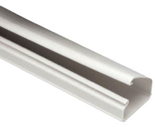LD10EI8-A PAN LATCHDUCT ELECTRIC IVORY 8 FT R1A