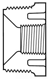 1X3/4 SCH 40 PVC THD BUSHING 439-131