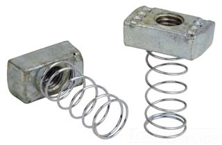 A100-3/8 SUP 3/8 SPRING NUT WITH SPRING FN228PLTD