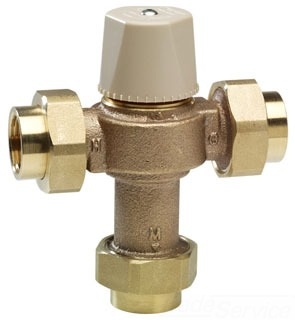 0559118 3/4 SWT LFMMV-M1US WATTS LF THERMO MIXING VALVE