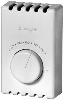 T410A1013 HON SPST, BIMETAL SNAP ACTING SWITCH, WHITE.