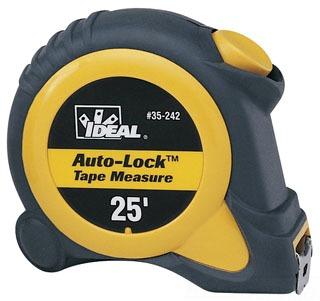 35-242 IDL 25FT AUTO-LOCK TAPE MEASURE