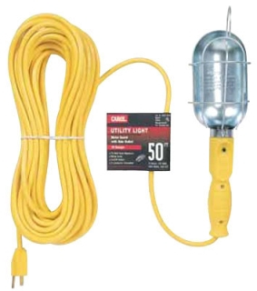 16/3 SJT YELLOW TROUBLE LIGHT 50' YELLOW 04457.60.05