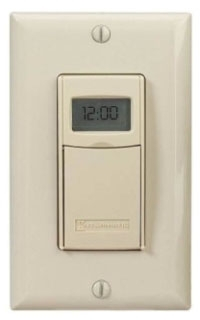 EI600C INT IN- WALL DIGITAL 7- DAY ASTRO TIMER 20 AMP 24- 277 VOLT IVORY