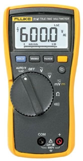 FLUKE-114 FLK TRUE RMS MULTIMETER