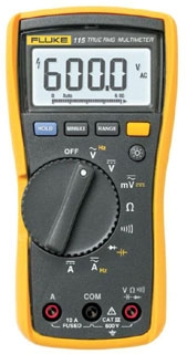 FLUKE-115 FLK TRUE RMS MULTIMETER