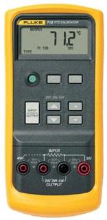 FLUKE-712 RTD CALIBRATOR