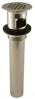 1-1/4 17GA CAST GRID DRAIN W/OVERFLOW D70100