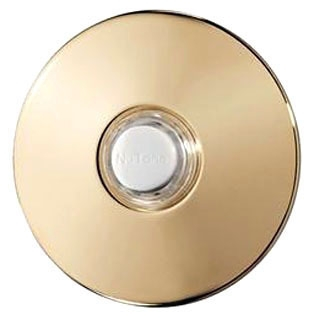 PB41BGL NUTONE POLISHED BRASS STUCCO PUSHBUTTON 78489199434