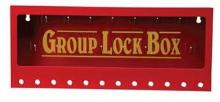 105715 BRADY METAL WALL LOCK BOX, LARGE