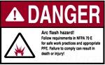 EL-4 BRA ARC FLASH PROTECTION - EQUIPMENT/OEM LABELS 75447380714 80714