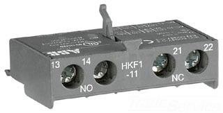 HKF1-11 ABB MS116 AUX SW 1NO-INC FRONT MT
