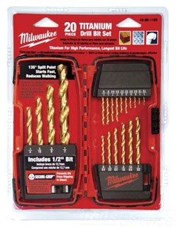 48-89-1105 MTA 20PC SET TITANIUM DRILL BIT SET