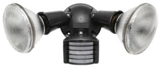 LU300 RAB BRNZ 300W SENSOR W/2 FLDS