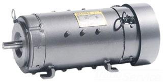 D5507P BALDOR 7.5HP 1750/2300RPM DC 2110AT TEFC F1