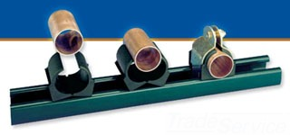 UNISTRT 018T022EG 1-1/8-INCH PIPE CLAMP ELECTRO-GALVANIZED