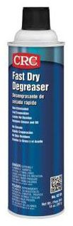 02185 CRC FAST DRY DEGREASER