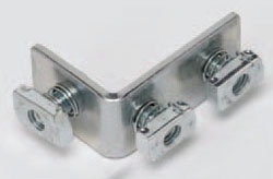 B102ZN B-LINE THREE HOLE CORNERANGLE, ZINC PLATED 78101150023