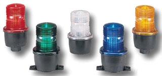 LP3P-012-048A FED STROBE, PIPE MOUNT, 12-48VDC, AMBER 78297920327