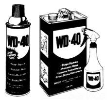 WD40-11OZ WD4 WD-40 11-OZ SPRAY CAN