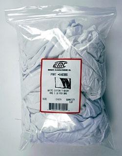 6403BG EMC 1LB BAG OF RAGS WHITE