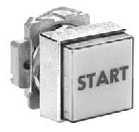 SQD 9001KXRB1A PUSH BUTTON OPERATOR 30MM T-KX