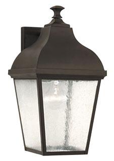 OL4002ORB MF Terrace Outdoor Lantern- Wall Brkt Oil Rubbed Bronze