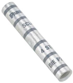 SCL2-Q PAN BUTT SPLICE LONG BARREL COPPER