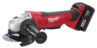 2680-22 MILWAUKE 18V 9000RPM PADDLE SWITCH CORDLESS 4 1/2IN CUT-OFF/GRINDER