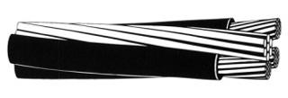 S-WIRE 25090202 336.4-19 AL QUAD BRONCO /XLP