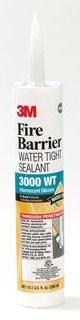 3000WT-10.1OZ 3M FIRE BARRIER WATER TIGHT SEALANT 10.1 FL. OZ. 05111516593